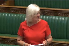 Siobhain in chamber
