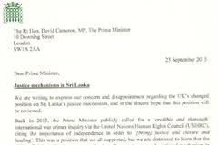 Sri Lanka letter 25.9